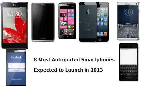 2013 में लांच होने वाले 7 स्मार्टफोनों पर एक नजर