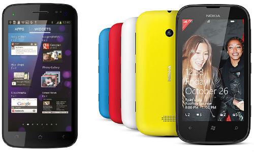 क्या नोकिया ल्यूमिया 510 विंडों फोन माइक्रोमैक्स ए90 एस पिक्सल एंड्रायड फोन का मुकाबला कर सकेगा?