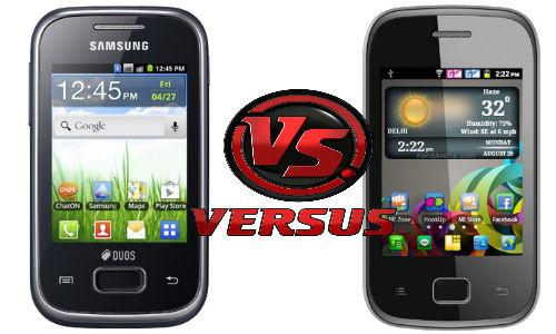 6,999 रुपए के सैमसंग गैलेक्सी वाई ड्योस लाइट और 3,999 रुपए के माइक्रोमैक्स ए25 में कौन है बेहतर फोन?