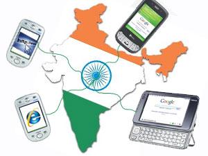 भारत में बढ़ रहें है हर साल मोबाइल इंटरनेट यूजर