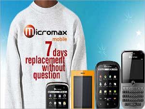 माइक्रोमैक्स में पुराना फोन लांए नया ले जांए