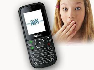 स्पाइस ने पेश किया मात्र 1,300 रूपए में ड्यूल सिम फोन