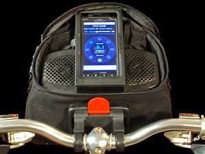 बिना इयरफोन के साइकिल में लें म्यूजिक का मजा