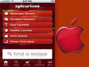 आईफोन में पढ़ें अपने मनपसंद पकवानों के बारे में