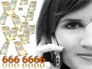 12 करोड़ का फोन नंबर