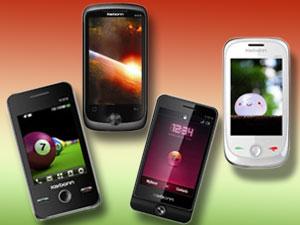 कार्बन ने लांच किए कम कीमत के चार टच स्क्रीन फोन