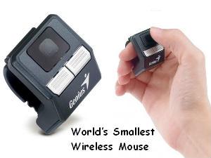 जीनियस ने पेश किया दुनियां का सबसे छोटा कंप्यूटर माउस