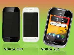 नोकिया का 603 लें या फिर 701 स्मार्टफोन
