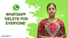 WhatsApp 'Delete for everyone' फीचर