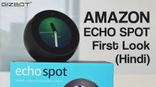 Amazon Echo Spot first look
