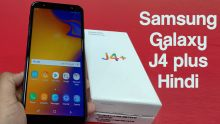 Samsung Galaxy J4 Plus First Impressions