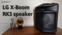 LG XBoom RK3 speaker Review