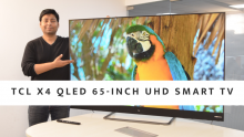 TCL X4 QLED 65-inch UHD Smart TV Features