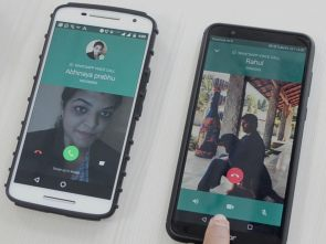 WhatsApp's new feature, Swtich from voice call to video call