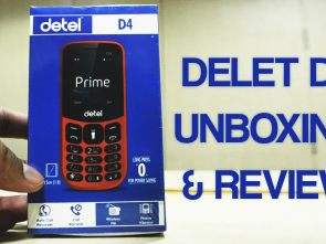 Detel D4 Prime Unboxing and Review
