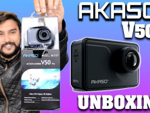 Akaso V50 Pro Unboxing And First Impression: Amazing Action Camera In Budget Segment ( HINDI )