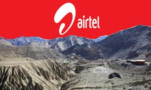 एयरटेल ने कारगिल में लांच की नई सर्विस