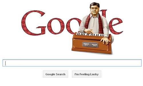 जगजीत सिंह को गूगल ने किया डूडल से सलाम