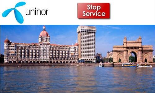 मुंबई में यूनिनॉर की मोबाइल सेवा बंद, लाखों उपभोक्ता परेशान