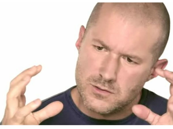 Jony Ive, Senior Vice President of Industrial Design, Apple