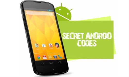 some secret codes android phones