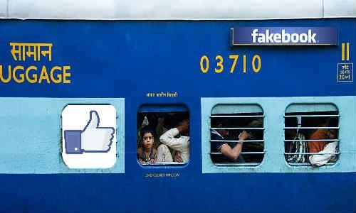 फेसबुक पर पटरियां बिछाने को तैयार भारतीय रेलवे