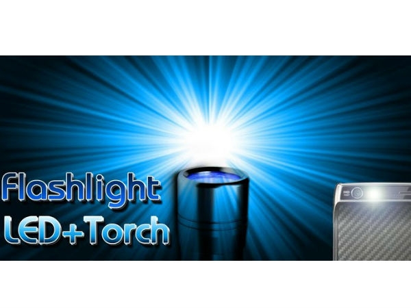 Power Flashlight LED + Torch