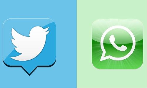 ट्विटर से ज्यादा व्हाट्सएप्प के दीवाने है लोग ?