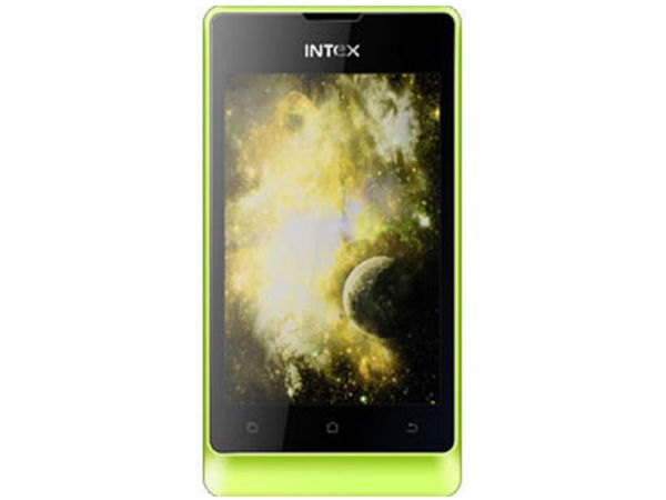 Intex Turbo 3.5 Mobile Phone
