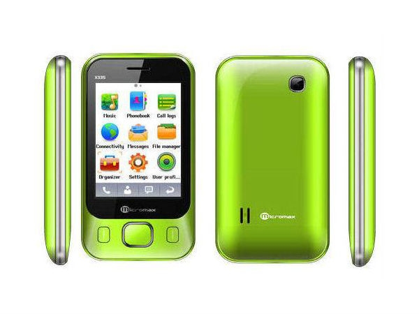 Micromax X335 mobile Phone