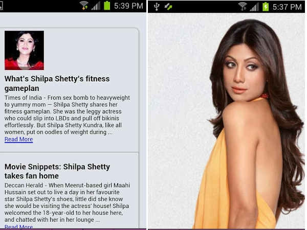 Shilpa Shetty Xana Apps