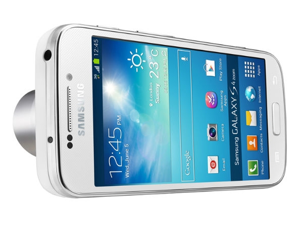 Samsung Galaxy S4 Zoom Camera smartphone