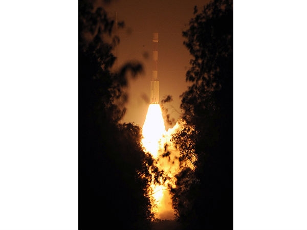 India's first navigation satellite
