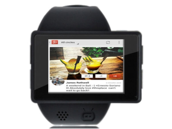 Fully featured Smart Watch 'Androidly'