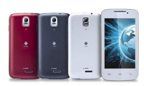 लावा ने लांच किए दो नए एंड्रायड बजट स्मार्टफोन