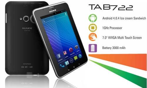 मैक्स मोबाइल ने लांच किया 8,000 रुपए में ड्युल सिम वॉयस कॉलिंग टैबलेट