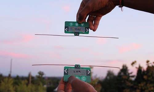 आ गई अनोखी तकनीक बिना बैटरी के भेज सकेंगे मोबाइल मैसेज