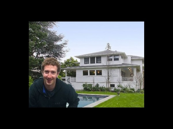 Mark Zuckerberg's Facebook home