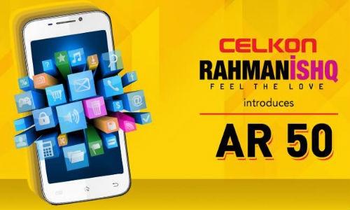 सेलकॉन ने लांच किया 8,499 रुपए में रहमानइश्क AR50 एंड्रायड फैबलेट