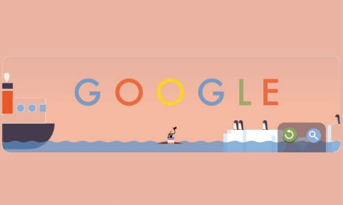 गूगल मना रहा है पहली पैराशूट जम्प का जश्न