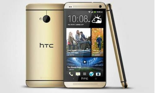 एचटीसी का नया 18 कैरेट गोल्ड कलर स्मार्टफोन
