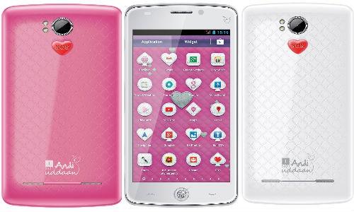 आईबॉल एंडी उड़ान, महिलाओं की सुरक्षा भी करेगा ये स्मार्टफोन