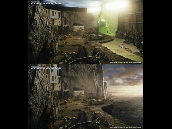 After visual effects