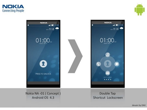 Nokia android concept smartphone