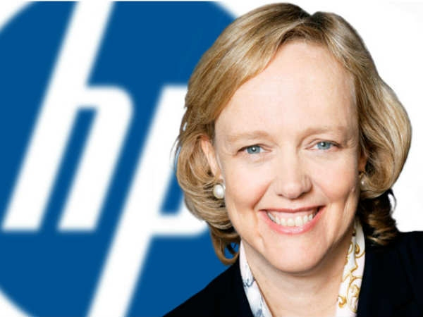 Meg Whitman, CEO, HP
