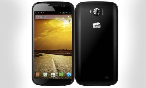माइक्रोमैक्स ने लांच किया नया ड्युल सिम 5 इंच स्क्रीन स्मार्टफोन