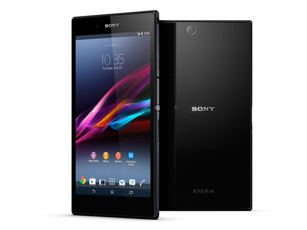 Sony Xperia Z Ultra:(6.5 mm)