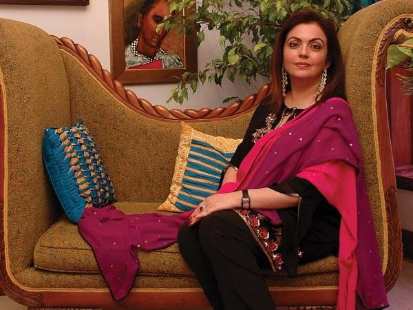 Nita Ambani: Chairperson of DAIS, co-owner of Mumbai Indians
