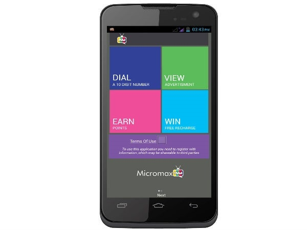 Micromax A94 Canvas Mad: