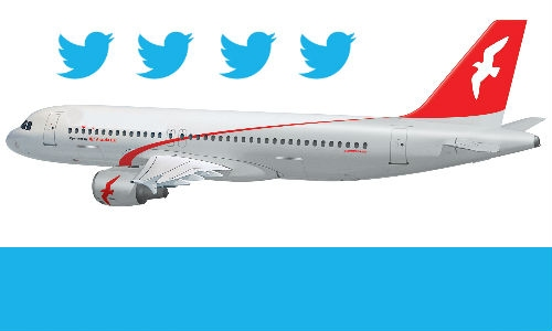 अब ट्विटर से हो सकेगी उड़ानों की बुकिंग